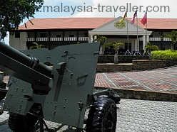 Port Dickson Army Museum Entrance
