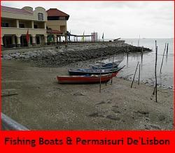 Sea front at Portuguese Settlement Melaka