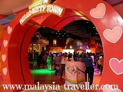 Entrance to Hello Kitty Town