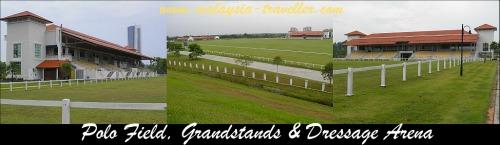 Grandstand at Putrajaya Equestrian Park