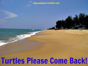 Beach at Rantau Abang