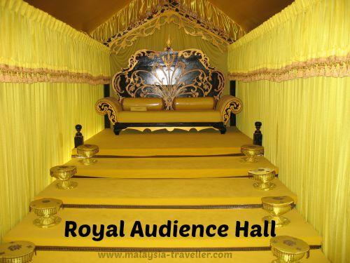 Audience Hall at Seri Menanti