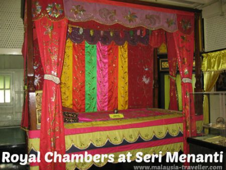 Bed in the Private Apartments at Seri Menanti Museum