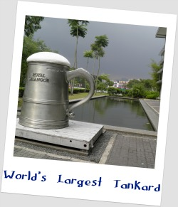 World's Largest Tankard -Royal Selangor