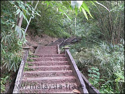 Staircase of 100 steps