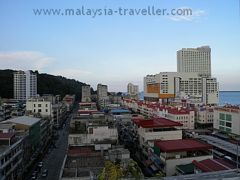 View of Sandakan