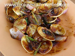 Lala (clams) at Sekinchan