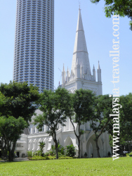St. Andrew's Cathedral, Singapore
