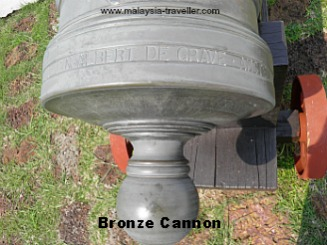 Old Bronze Cannons at St. John's Fort