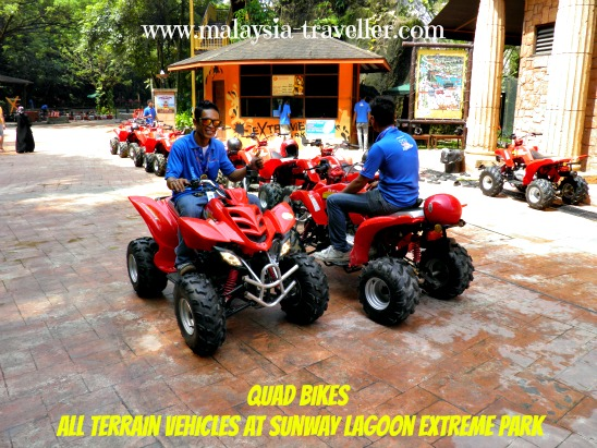 Quad Bikes at Sunway Lagoon