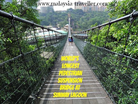 Suspension Bridge at Sunway Lagoon