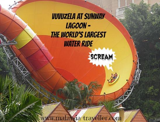 Vuvuzela ride at Sunway Lagoon
