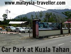 Car Park at Kuala Tahan