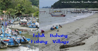 The fishing village of Teluk Bahang, Penang