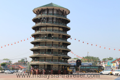Leaning Clock Tower Teluk Intan
