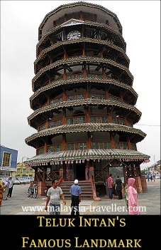 The Leaning Clock Tower of Teluk Intan