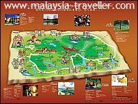 A Famosa Resort Map