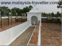 Hang Tuah Mausoleum at Tanjung Kling