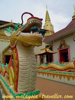 Dragon at Wat Chaiyamangalaram