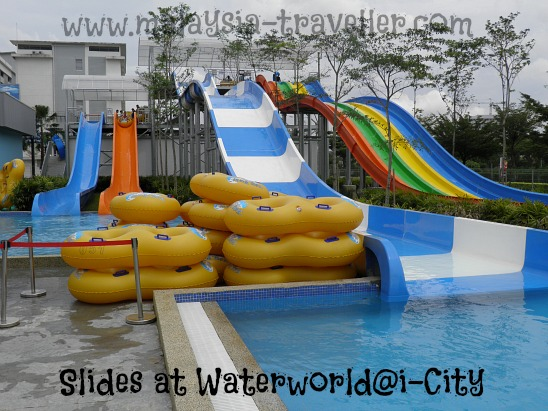 Slides at Waterworld@i-City