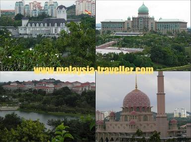 Great views of Putrajaya from Taman Wawasan.