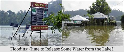 Flooding at Banding Island