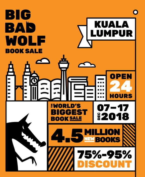 e3dae525ca0cf The Big Bad Wolf Book Sale is back again this year at MIECC