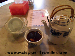 Pu Erh Tea at Gopeng Heritage House