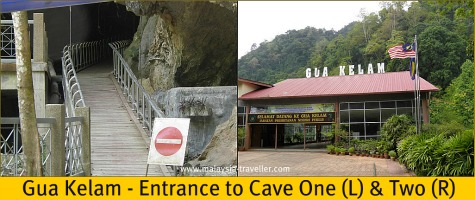 Entrance to Gua Kelam