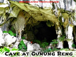 The cave at Gunung Reng