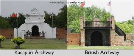 Archways at Kuala Kedah Fort
