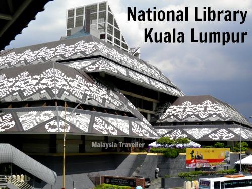 National Library Of Malaysia Perpustakaan Negara Malaysia Kuala Lumpur