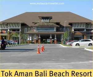 Tok Aman Bali Beach Resort at Pantai Bisikan Bayu