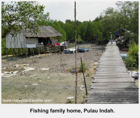 Fisherman's House, Pulau Indah