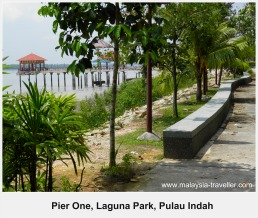 Waterfront at Pier One Laguna Park, Pulau Indah