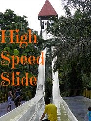 High Speed Slide at A'Famosa Water Park