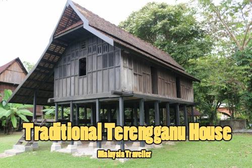 Terengganu traditional house at Muzium Warisan Melayu