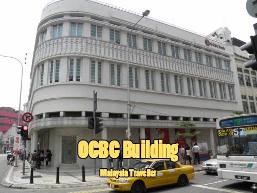 OCBC's art deco branch in Kuala Lumpur