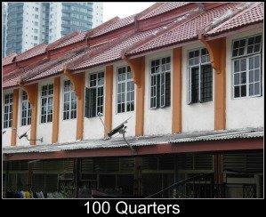 The Hundred Quarters, Brickfields