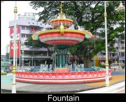 Fountain at Little India, Brickfields