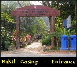 Main Entrance, Bukit Gasing Forest Park