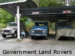 Bukit Larut Hill Resort Land Rovers