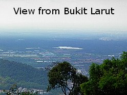 View From Bukit Larut Hill Resort