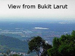 View From Bukit Larut Hill Resort