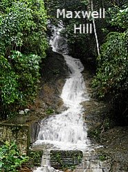 Bukit Larut Hill Resort Waterfall