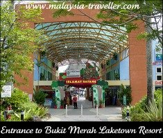 Entrance to Bukit Merah Laketown Resort