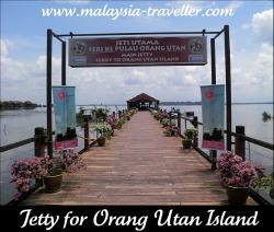 Bukit Merah's jetty to Orang Utan Island