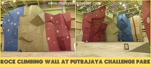 Rock Climbing Wall at Putrajaya Challenge Park
