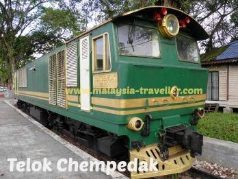 Diesel Locomotive at First Galleria
