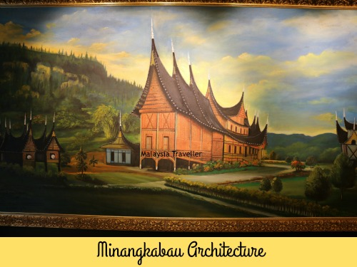 Painting from Minangkabau at Galeri Diraja